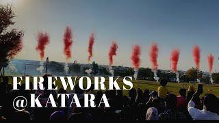 COLORFUL FIREWORKS@ ALwasmi Katara Flower Festival