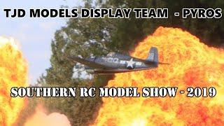 TJD DISPLAY TEAM PYROS SLOT WITH GHENGIS FIREWORKS AT THE SOUTHERN RC MODEL SHOW - 2019