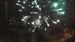САЛЮТЫ на новый год !!!!!!!