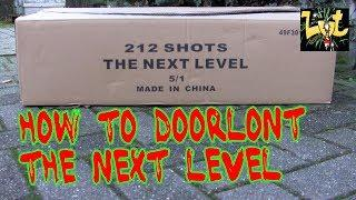 How to Doorlont: The Next Level 212 Shots (Salon Roger Fireworks)