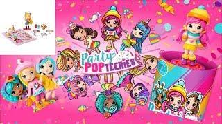 Распаковка Куклы конфетти хлопушки сюрприз! Unboxing Party POP teenies