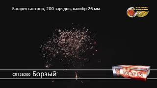 СЛ126200 Борзый Батарея салютов