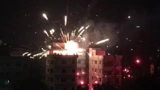Неудачный запуск новогоднего фейерверка или начни свой Новый год бомбезно