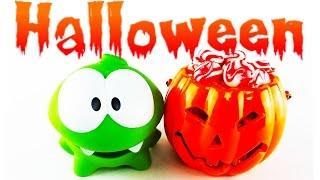Ам Ням - Хеллоуин (Halloween) Праздник, Бенгальские огни, Конфеты в Тыкве