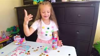 Обзор Party Pop Teenies surprise - Куклы Конфети Хлопушки Сюрприз