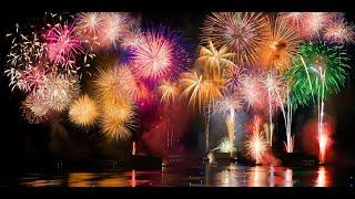 Amazing Fire works Celebration In Dubai 49th UAE National Day. Live Video NOW 2020