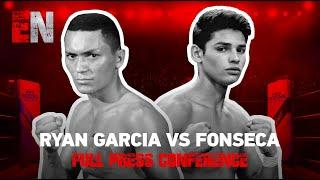 FireWorks!!!! Ryan Garcia Vs Fonseca Full Press Conference | EsNews Boxing