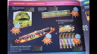 The Range Fireworks leaflet  2019