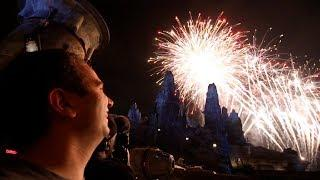 Fireworks in Star Wars Galaxy's Edge, Closing Batuu | Star Wars Galaxy's Edge VLOG 3