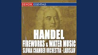 Music for the Royal Fireworks, HWV 351: III. Bourrée