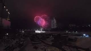 Салют 76-ю годовщина победы под Сталинградом
