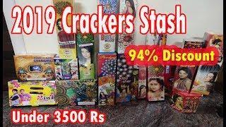 Diwali Crackers Stash 2019 | Saste patakhe | Diwali Fireworks Stash 2019| Budget Stash