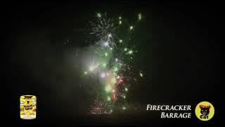 BC2219 Firecracker Barrage Fountain by Black Cat Fireworks