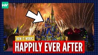 How Magic Kingdom's Fireworks Work (Happily Ever After)