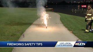 Fire officials urging people to leave fireworks to professionals for Fourth of July