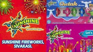 SUNSHINE Fireworks|VILVAM Brand|Sivakasi Crackers Factory