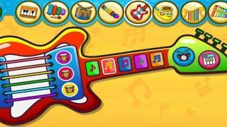 Музыка для детей / видео для детей / for kids электрогитара