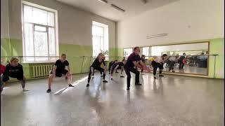 Народно-сценический танец. Русский танец. Мужская хлопушка