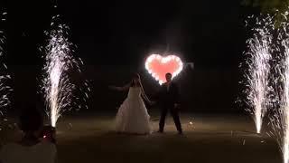 Дорожка из фонтанов + Сердце