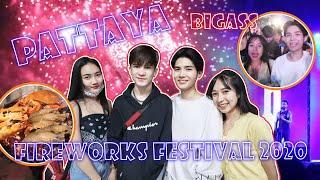 PATTAYA FIREWORKS FESTIVAL 2020 & BIG ASS