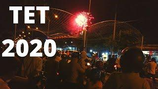 TET 2020 Chinese New Year Vietnam fireworks.