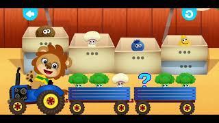 Пузыри! Учим цифры и цвета! Хлопушки! Овощи!  И много всего) Learning Games. Devikajoy