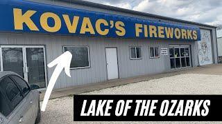 Kovac's Fireworks (Lake of the Ozarks)