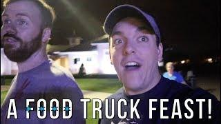 Food Trucks & Fireworks! | Exploring the Bugg's New Neighborhood