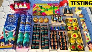 Different Type of Fireworks Testing 2021, Diwali fireworks testing2021, Cracker Testing, Fireworks