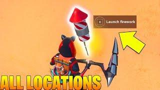 LAUNCH FIREWORKS  - SEASON 7 WEEK 4 CHALLENGES GUIDE - Fortnite