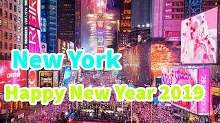 Time Square NYC Fireworks New Year's Eve 2019 Times Square Ball Drop Live