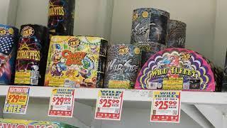 2019 Firework Shopping *TNT Fireworks*