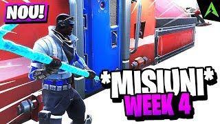 *NOILE* Misiuni Din WEEK 4 GASITE! - Launch Fireworks, NOMS Sign & Altele!