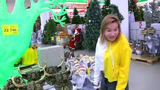 Едем в торговый центр Влог на Новый год 2018  ## 63