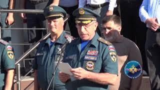 В Республике Дагестан стартовали Межрегиональные соревнования по пожарно-спасательному спорту