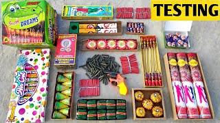 Different type of Fireworks testing 2021   Testing Crackers 2021   Different type of crackerstesting