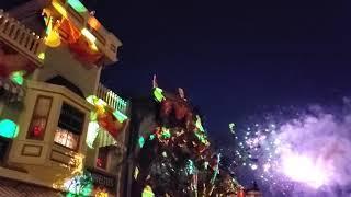 Halloween Screams Fireworks Projections Disneyland 2019