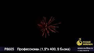 ПРОФЕССИОНАЛ Р8605 БАТАРЕЯ САЛЮТОВ
