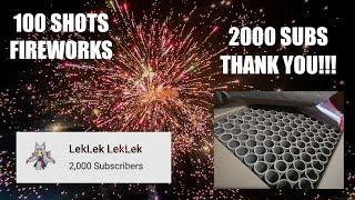 100 Shots Metallic Spider by Leegendary Fireworks Manila Philippines Fiesta 2020