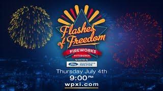 WPXI Fourth of July Fireworks Show