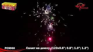 Большая батарея салютов Салют на днюху 0,8;1;1,2х123