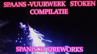 Verschillend Vuurwerk Stoken/ Different types of Fireworks from Spain/ Valencia