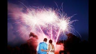 Dumbleton Hall Wedding Fireworks July 14th 2018 - By Temple Fireworks