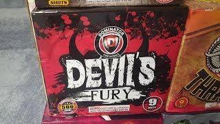 Fireworks Demo (500 Gram Cake) - Devil's Fury (Dominator)