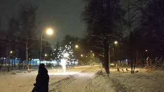 Крутой вираж SLK Батарея салютов + фонтан