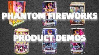 Demos of Every New Firework for Phantom! (CA)