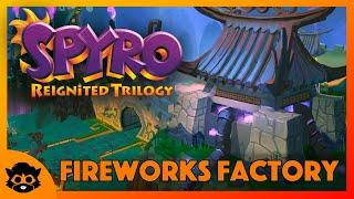 Spyro 3 (Reignited) | Part 23: Fireworks Factory 100% (All Gems & Eggs)