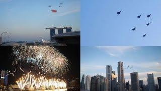 (FULL) NDP 2019 Aerial Display + Fireworks