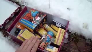Взрываем различные петарды в снегу| Тест разных петард| Моя пиротехника