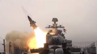 «Солнечный ожог»: кадры пусков крылатых ракет вЯпонском море